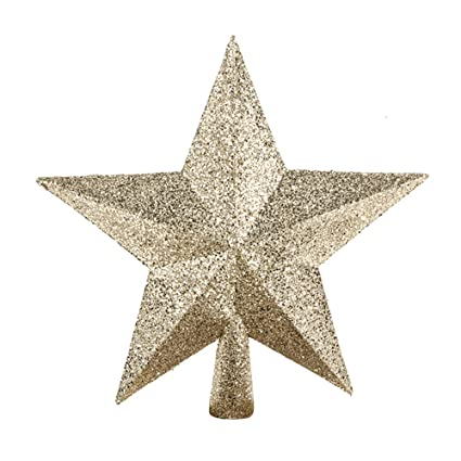 c34b6c947d31 Image Unavailable. Image not available for. Color: Floristrywarehouse Christmas  Glitter Star Tree Topper ...