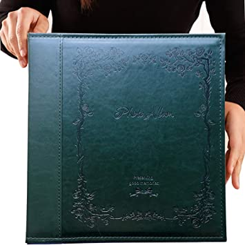 Totocan 4x6 Photo Album 600 Pockets Extra Large Capacity Picture Album With Vintage Leather Cover Family Baby Wedding Album Dark Green