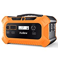 Amazon.com deals on Audew 500Wh Solar Generator with Jump Starter