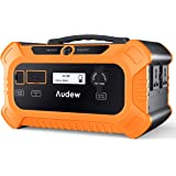 Audew 500Wh Portable Power Station,200W/156250mAh LiFePO4 Solar Generator with AC/DC/USB Output for CPAP Camping…