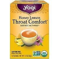 Yogi Tea Garganta Comfort, Miel Limón 16 oz