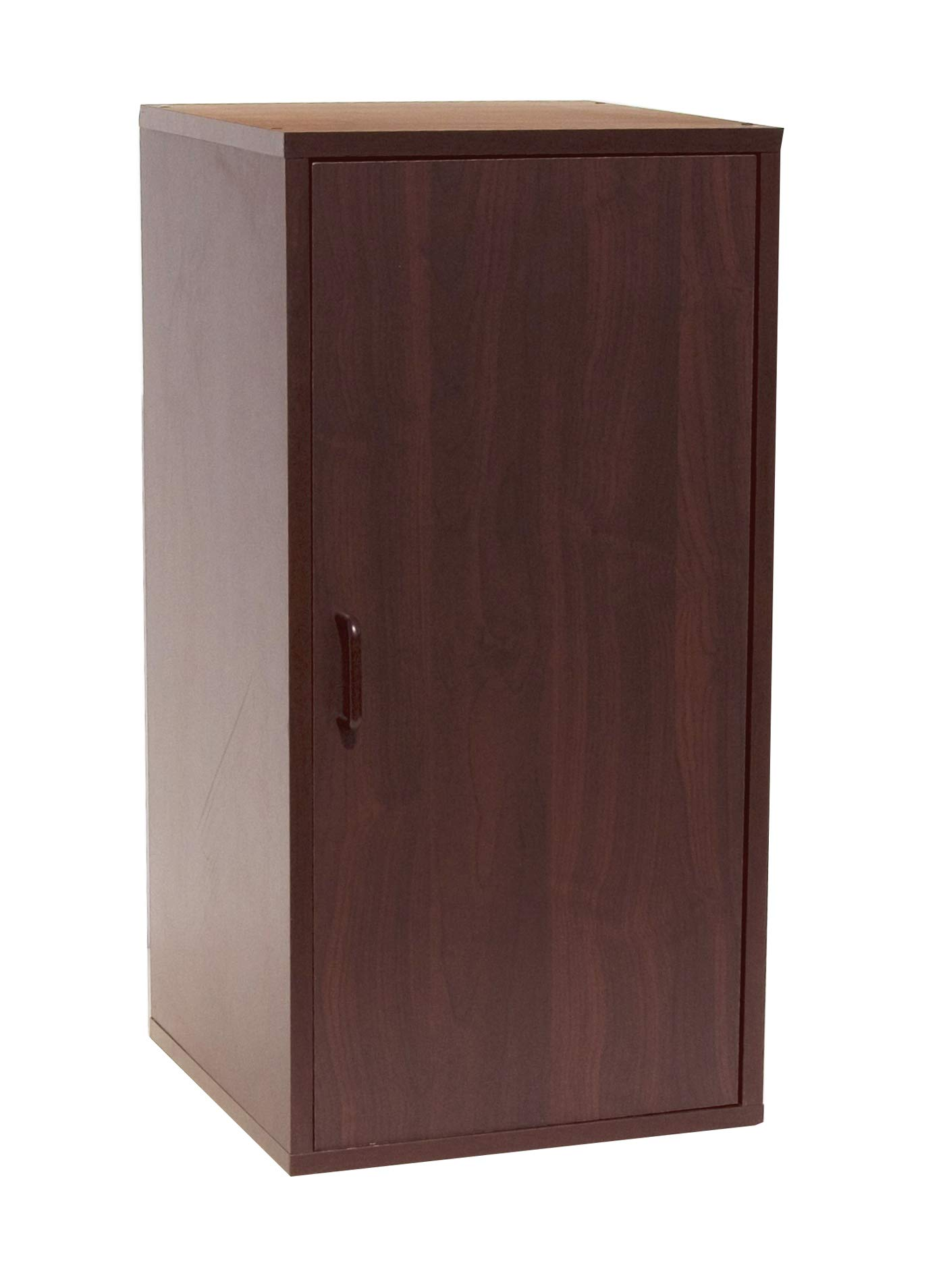 SKB family Organize It All 2 Section Double Storage Cube with Door by Neu Home, 30'' x 15'' x 12 lbs