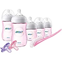 Philips Avent Natural Pink Infant Starter Set