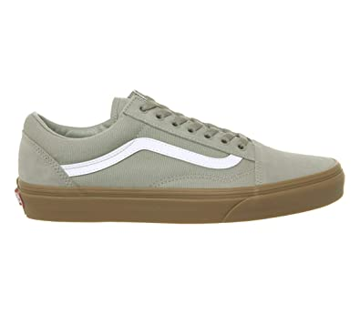 Vans Old Skool Sneaker Herren Grau Sneaker Low: Amazon.de: Schuhe ...