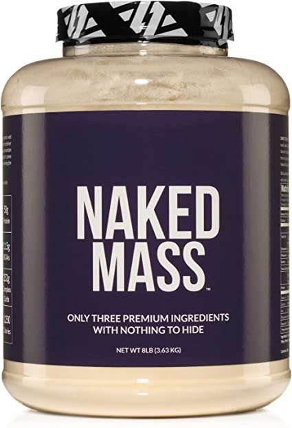 Amazon.com: Naked Mass - Natural Weight Gainer Protein Powder ...