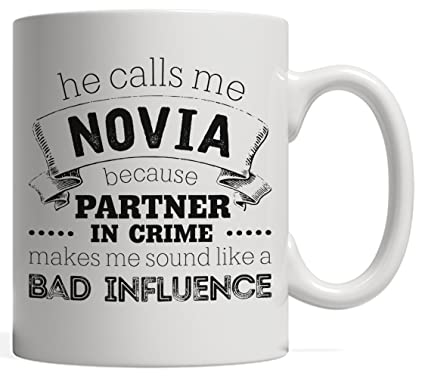 he calls me novia because partner in crime makes me sound like a bad influence - What To Give Your Girlfriend For Christmas