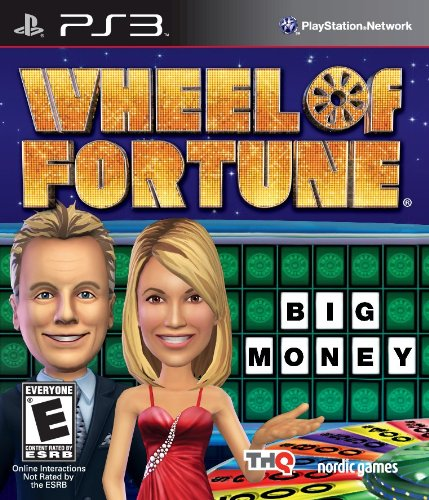 Wheel of Fortune PS3 (Wheel Of Fortune Video Game)