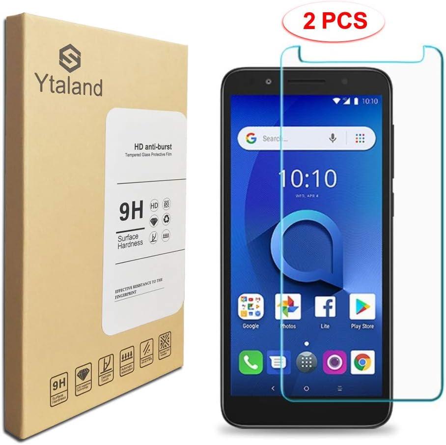 Ytaland - Protector de Pantalla para Alcatel IdealXtra/Alcatel 1X ...