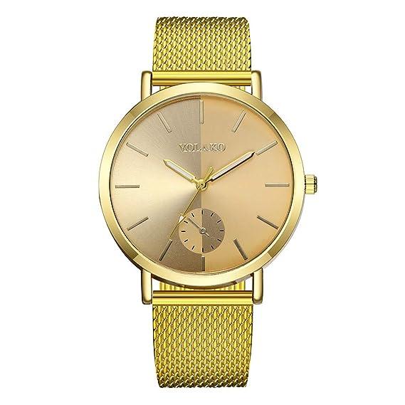 Relojes Mujer Casual Cuero Plástica Banda Cuarzo Reloj ...