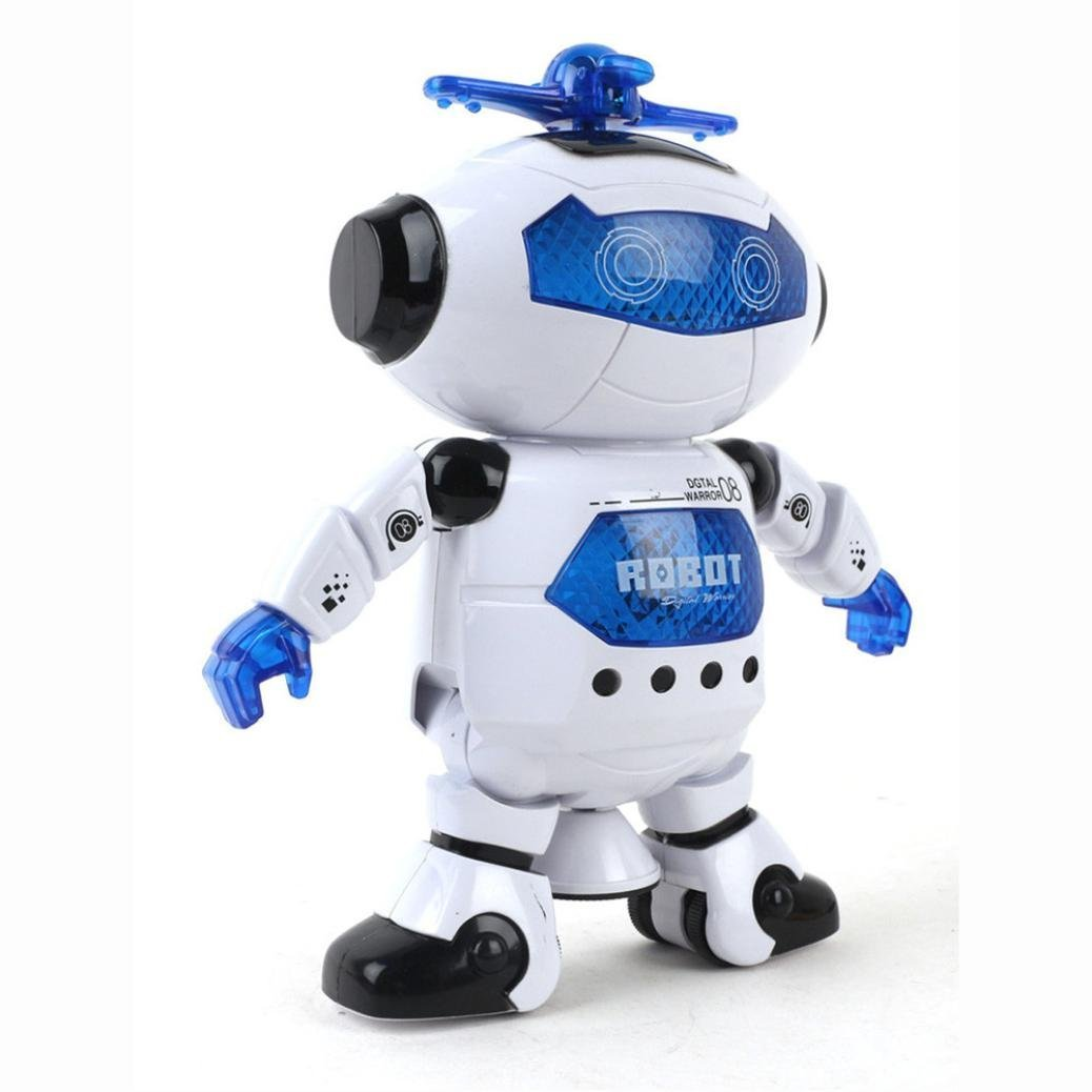 UKnows Smart Space Robot Electronic Walking Dancing Astronaut Kids Music Light Toys by UKnows (Image #4)