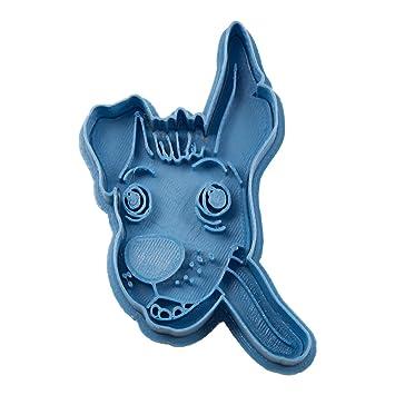 Cuticuter Dante Coco Cortador de Galletas, Azul. 8x7x1,5cm: Amazon.es: Hogar