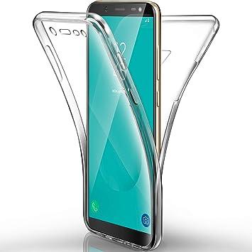 Aroyi Funda Samsung Galaxy J6 2018, Aroyi Carcasa Ultra Delgado Samsung Galaxy J6 2018 de TPU Silicona Transparente Skin Cover Resistente ...