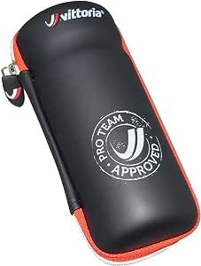 Vittoria ZCASE Zip Case Bottle Cage Tool Bag, Black