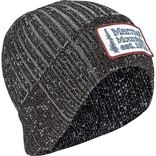 Marmot Fleece Beanie - Marmot Men's Retro Trucker Beanie Black One Size