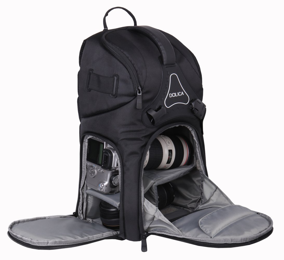 Dolica DK-10 Travel Camera Backpack, Small (Black): Amazon.ca ...