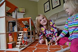 Amazon com  Plan Toy Chalet Doll House   Furniture  Toys  amp  Games Comment  people found this helpful  Was this review helpful to you YesNoReport abuse  middot    out of starsChalet Dollhouse   Plan Toys