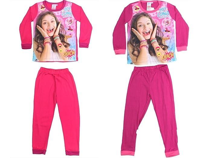 Soy Luna - Pijama - para niña rosa oscuro Medium