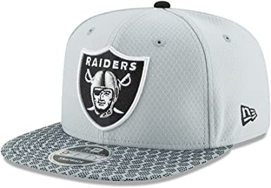 Gorra New Era – 9Fifty NFL Onf Oakland Raiders gris/negro talla: S ...