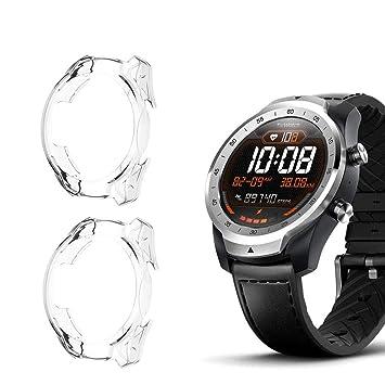 Cerike Funda para Ticwatch Pro Watch, TPU Resistente a los ...