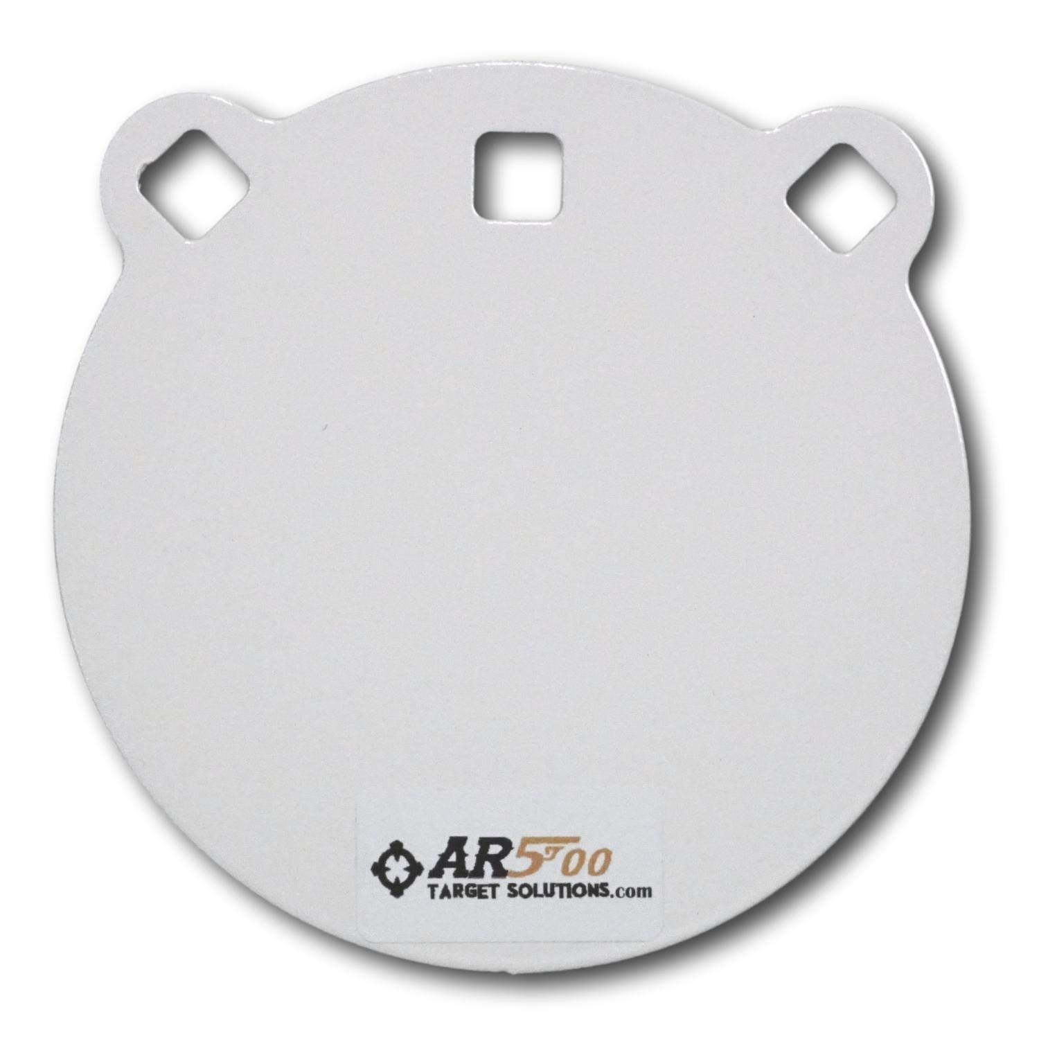 Ar500 Target Solutions- Quality 3/8, 1/2 Thick AR500 Steel Targets- Laser Cut Powder Coated Made in USA (6'', 3/8)