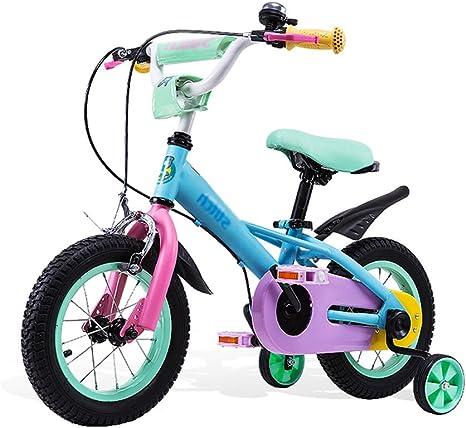 BaoKangShop Bicicletas Bicicleta 6-7-8-9-10 Años Color Niño bebé Niña bebé Bicicleta 12 Pulgadas, 14 Pulgadas, 16 Pulgadas Carro de bebé: Amazon.es: Deportes y aire libre