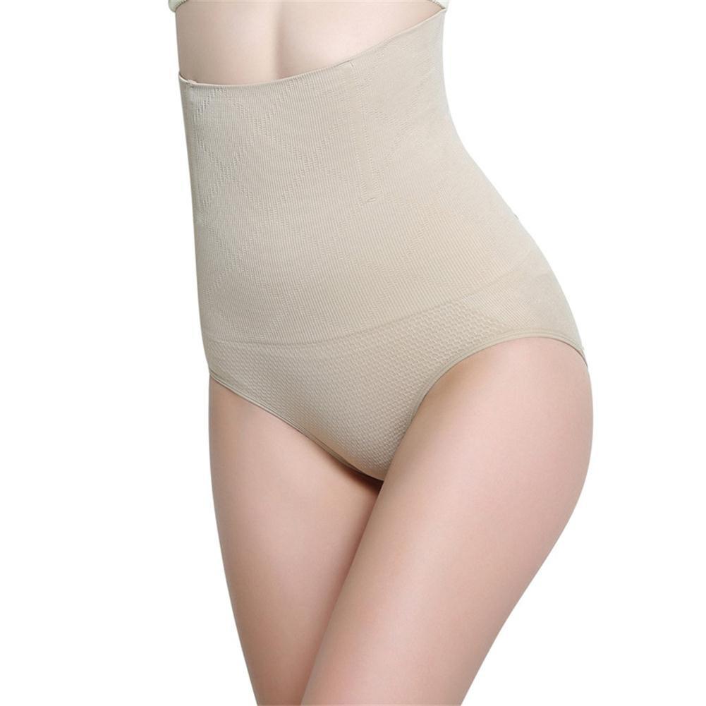 Befamous Women's High Waist Postpartum Abdomen Panties Belt Body Shaper