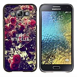 Dragon Case - FOR Samsung Galaxy E5 E500 - ?waiting means having you - Caja protectora de pl??stico duro de la cubierta Dise?¡Ào Slim Fit