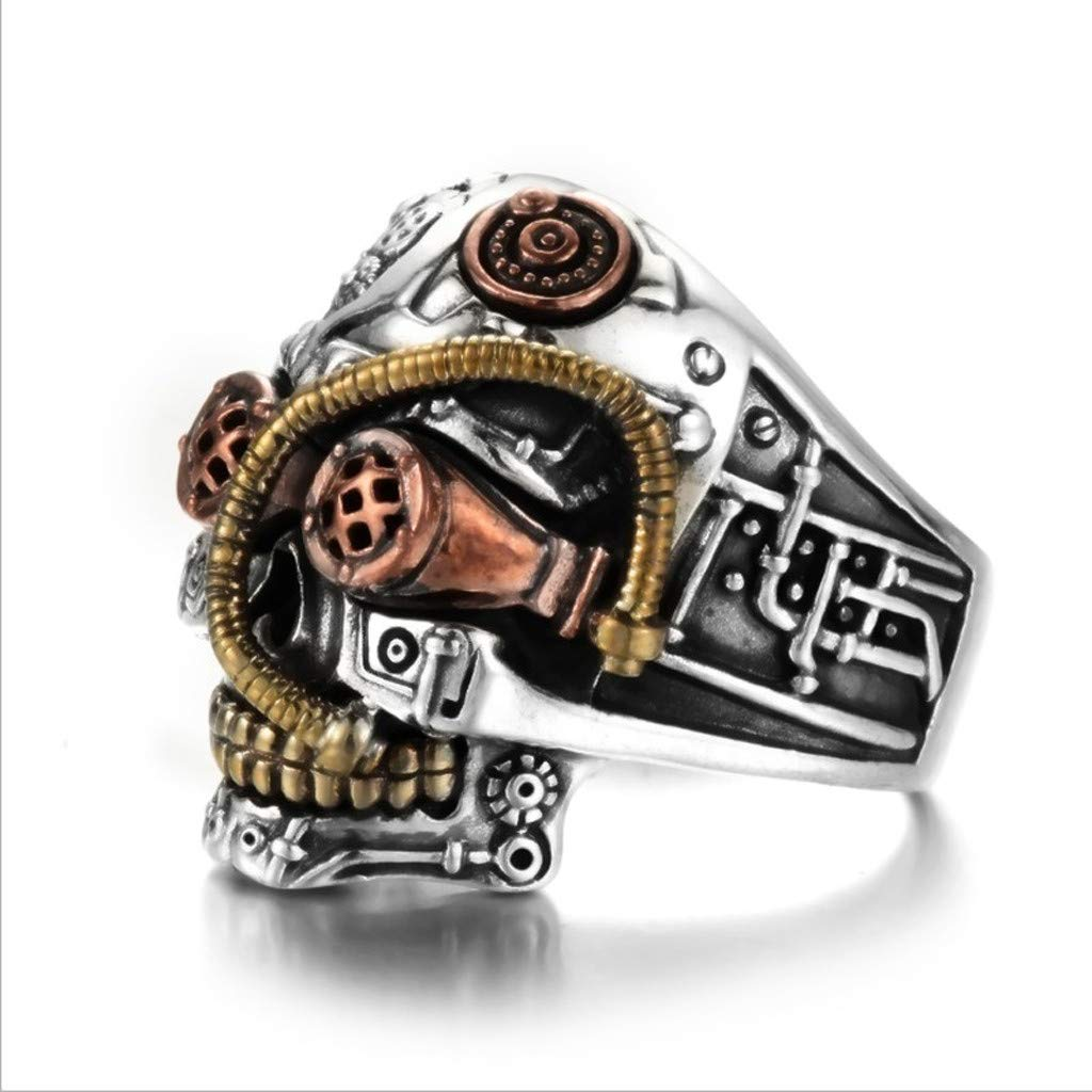 ee2698ac6a6 Weite Steam Punk Style Alloy Sugar Skull Ring for Men Women