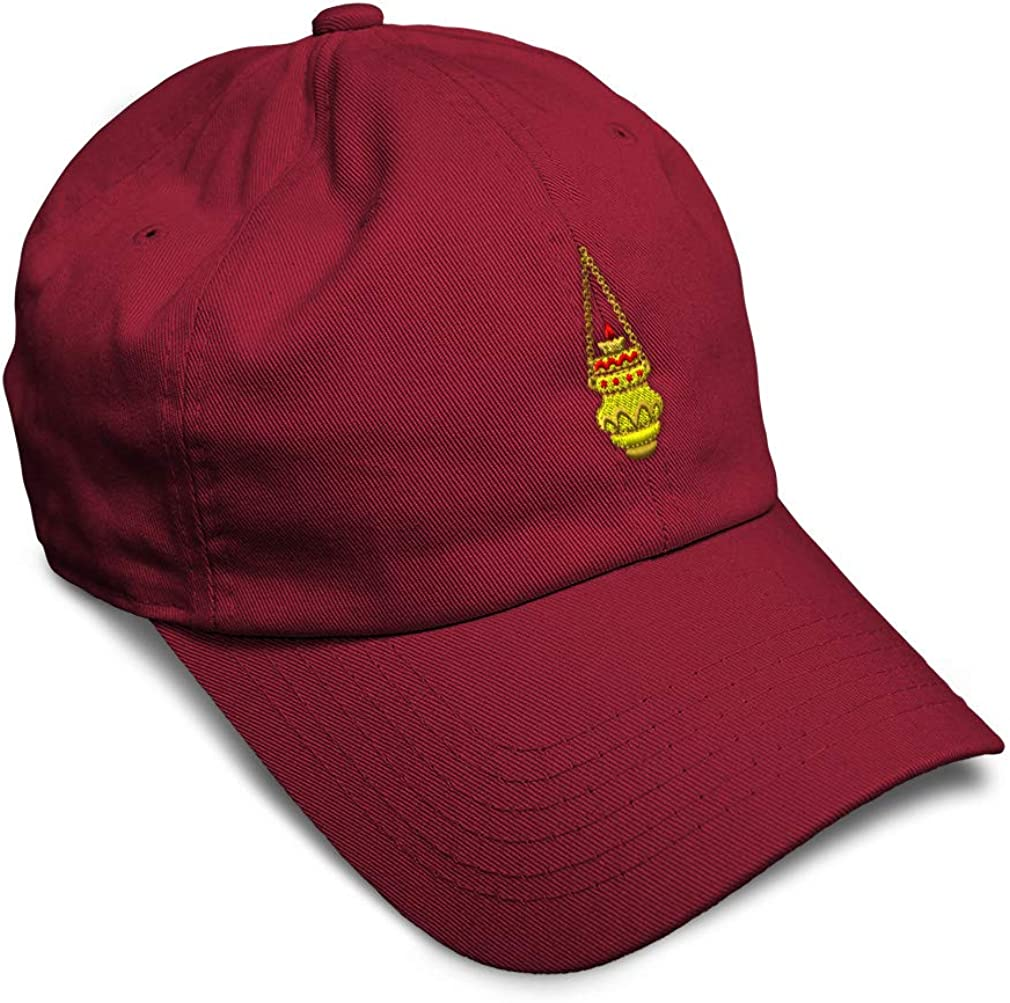 Custom Soft Baseball Cap Eternal Light Embroidery Dad Hats for Men /& Women