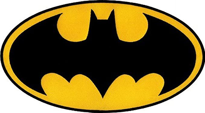 Amazon.com  Batman - Large Logo - Embroidered Iron On or Sew On ... 2babfc136