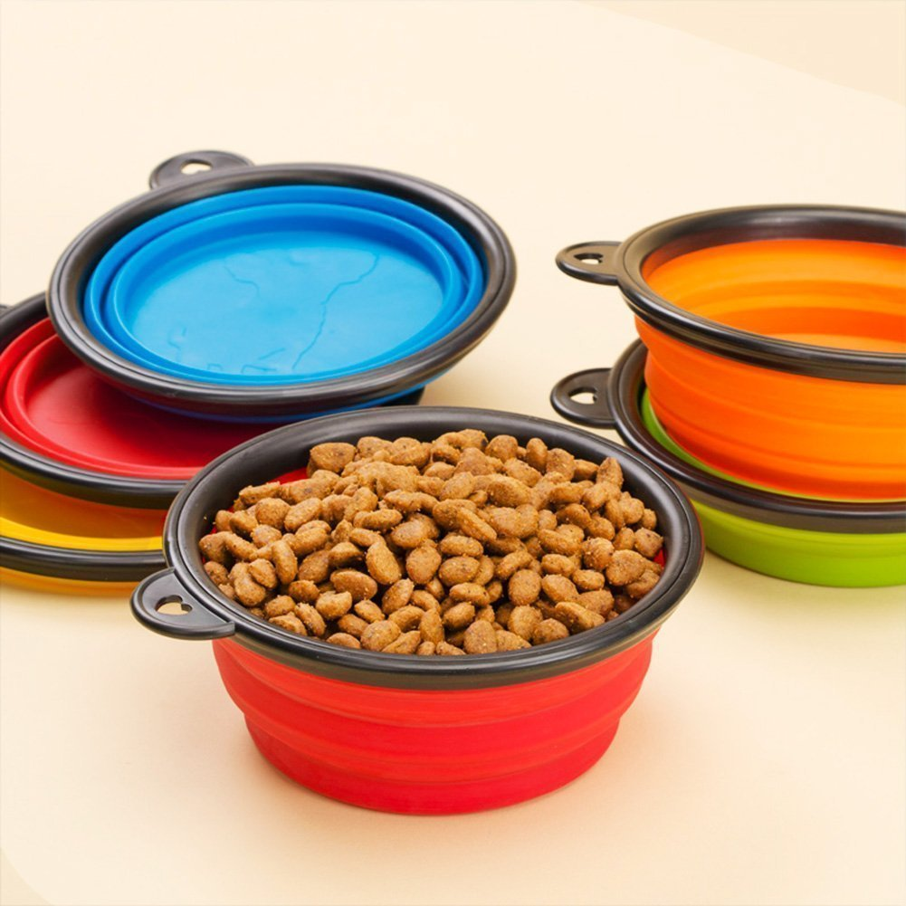 Hot Spot Pets Collapsible Travel Bowl (4 Pack) by Hot Spot