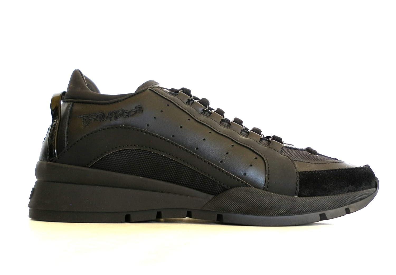 DSQUARED - Zapatillas para Hombre Negro Negro Negro Size: 42 EU: Amazon.es: Zapatos y complementos