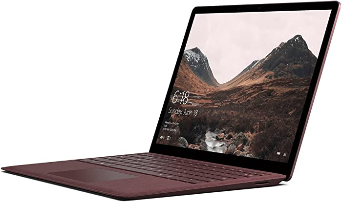 "Microsoft Surface Laptop (1st Gen) DAG-00005 Laptop (Windows 10 S, Intel Core i5, 13.5"" LED-Lit Screen, Storage: 256 GB, RAM: 8 GB) Burgundy"
