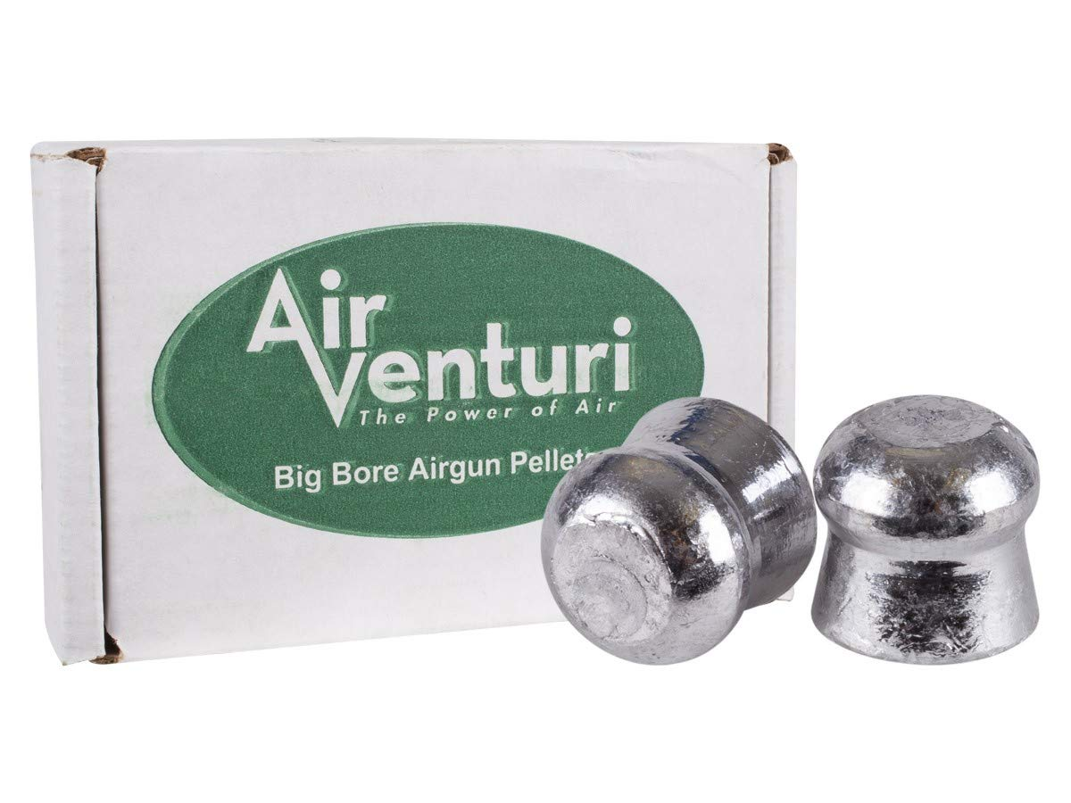 Air Venturi 45 Caliber 138gr Flat Point Pellet, 100 ct