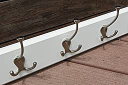 Amazon.com: Liberty 129848 Hook Rail/Coat Rack with 5