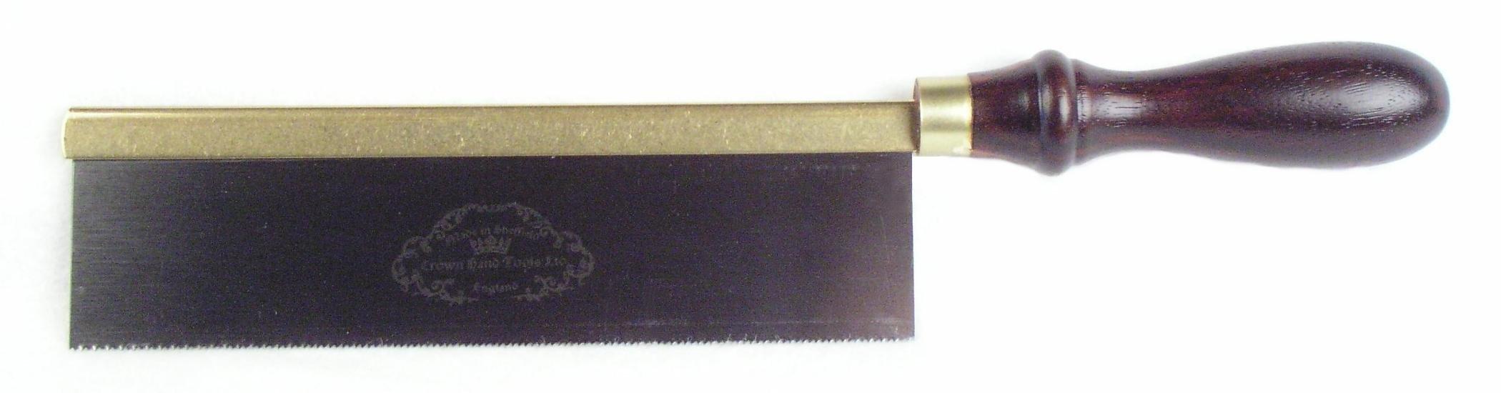 Crown FLINN2 8'' Pax Gents Dovetail Saw,Carbon Steel, Beech Handle