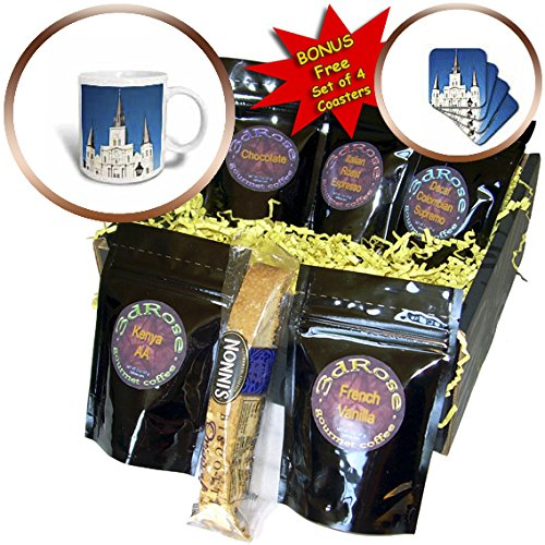 Danita Delimont - Architecture - US, New Orleans. St Louis Cathedral Plaza D Armas holiday decor - Coffee Gift Baskets - Coffee Gift Basket (cgb_230845_1)