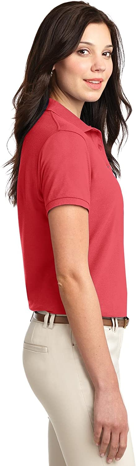 L500 Port Authority; Ladies Silk Touch153Polo
