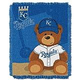 MLB Kansas City Royals Field Woven Jacquard Baby Throw Blanket, 36x46-Inch
