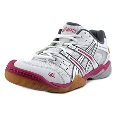 ASICS Women's Gel Approach 5 Ankle High Running Shoe White/White/Pink Size 9.0
