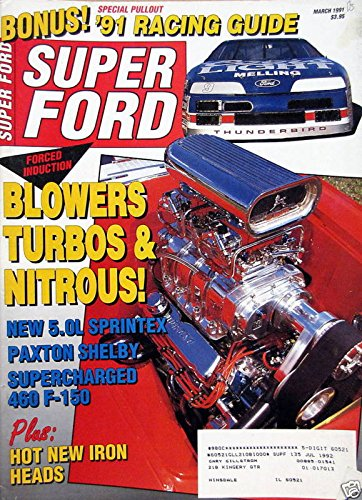 Blowers Turbos & Nitrous! - March, 1991 - Mustang Gt Vortech