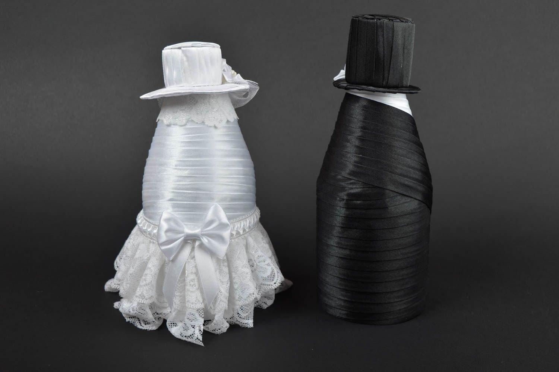 Botella Decoración Boda hecha a mano accesorio boda ...