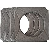 Microfiber Cleaning Pads for ECOVACS WINBOT W950 Cleaning Window Cloth Pad for Window Robot 4pcs (4)