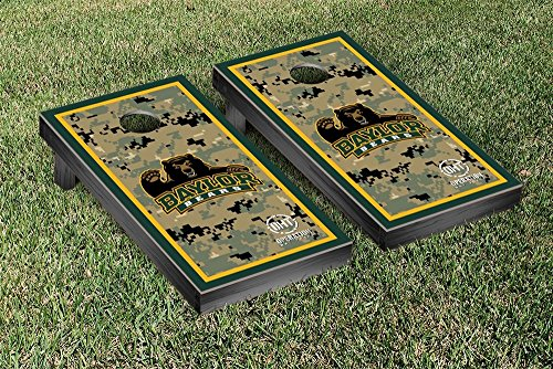 Operation Hat Trick Baylor Bears Cornhole Game Set Border Version by Victory Tailgate