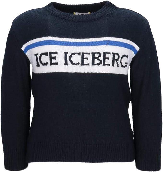 T-shirt Iceberg A Girocollo Con Logo