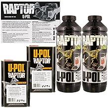 U-POL Raptor Tintable Urethane Spray-On Truck Bed Liner & Texture Coating, 2 Liters by U-Pol