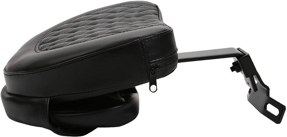 Road Glide 98-13 15-16 Adjustable Plug In Driver Backrest Diamond Pad Rider Pocket For Harley Dyna Heritage Softail Fatboy 97-17 Black Arm Street Glide 06-16 Electra Glide Road King 97-16