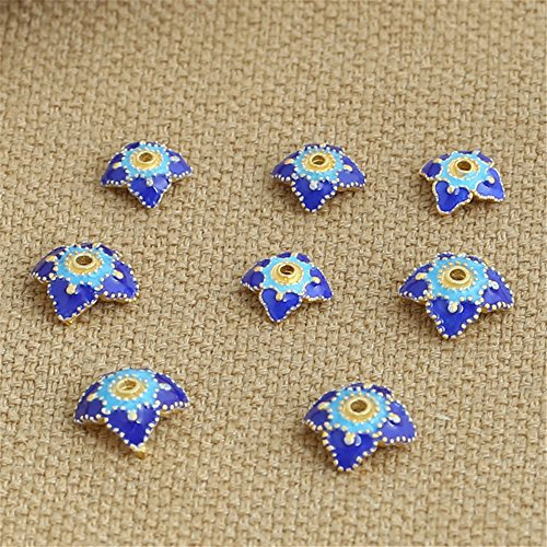 8mm Cloisonne Beads - 8