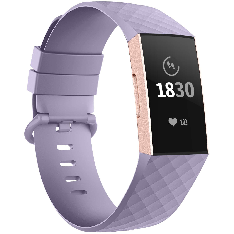 Malla Large para Fitbit Charge 3/4 Lavanda -82Y5QQDD
