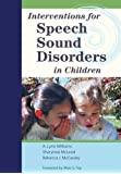 Interventions for Speech Sound Disorders in Children (CLI)